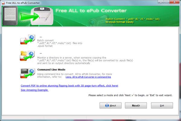 Cxoft Free Converter to ePub 1.0 full
