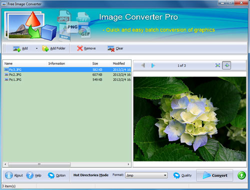 Windows 7 FPicsoft Free Image Converter 1.0 full