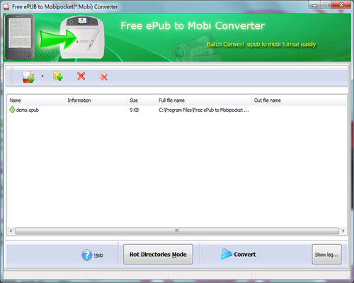 Free Mrosoft Converter Mobi from EPub 1.0 full