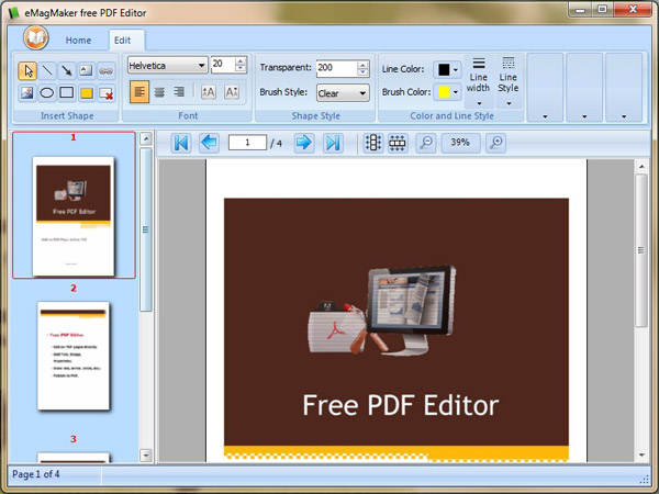 Pdf Editor Software Free Download For Windows Xp